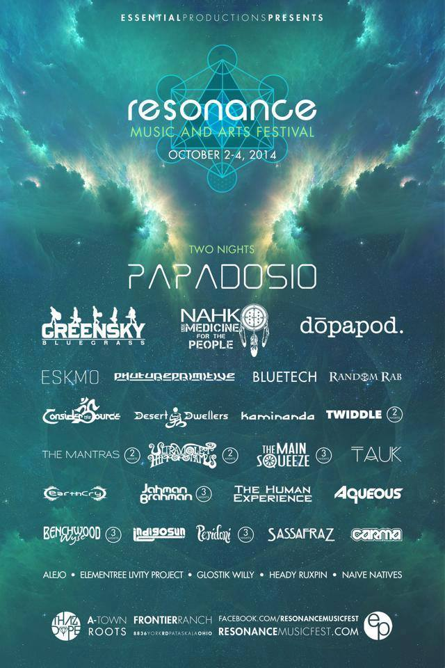 resonance logo lineup